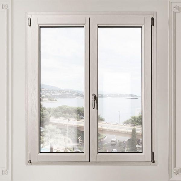 Finestre tutto legno pb finestre for Finestre apertura alla francese