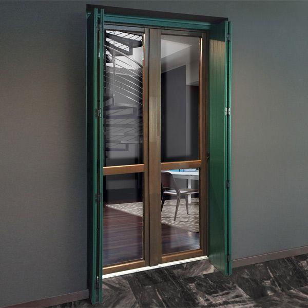 Prodotti portefinestre e portoni pb finestre - Porta finestra scorrevole esterna ...