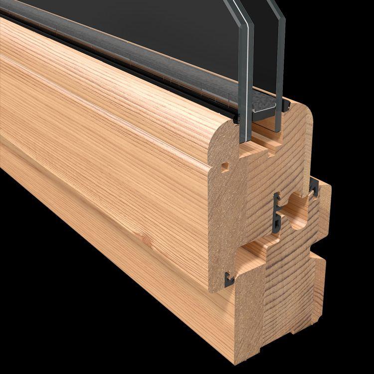 Finestre tutto legno pb finestre for Finestra tonda